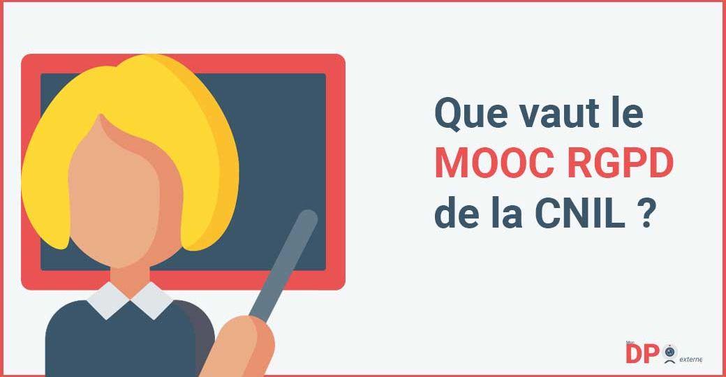 MOOC RGPD de la CNIL