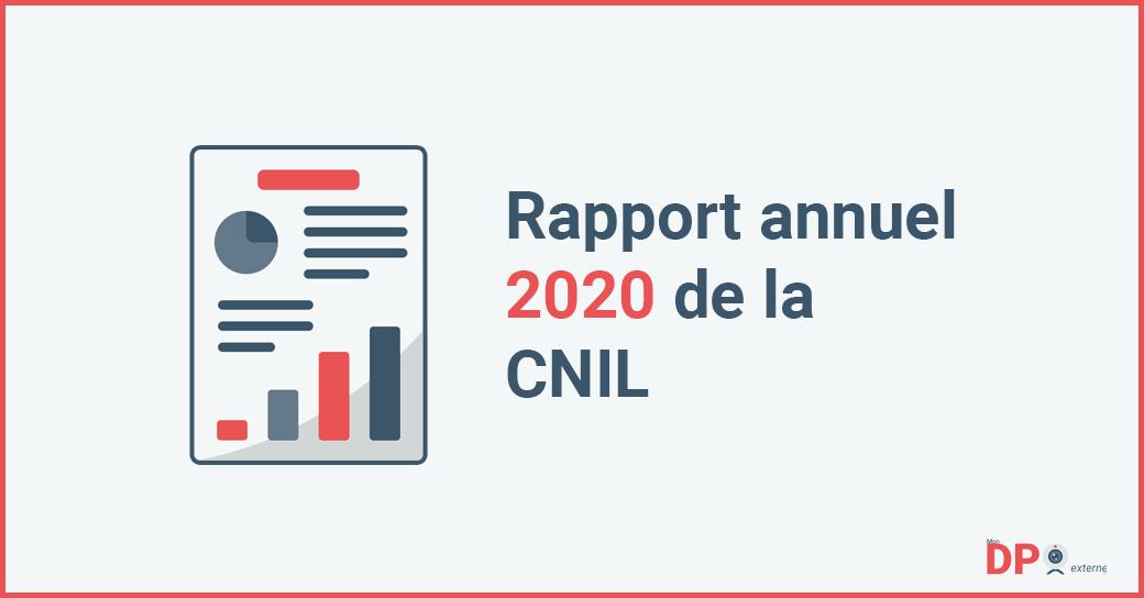 Rapport annuel 2020 de la Commission National de l'Informatique et des Libertés